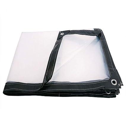 Meng Tela Impermeable, Impermeable, Cobertizo, Lona Transparente,3x5m