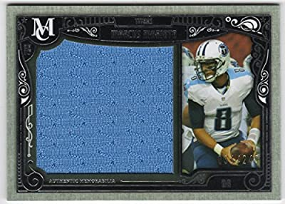 Marcus Mariota 2015 Topps Museum Rookie Jumbo Jersey Card Serial #034/249 Tennessee Titans