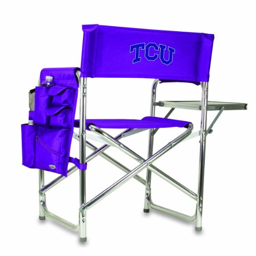 NCAA Texas Christian Horned Frogs Portable Folding Sports Chair, Purple