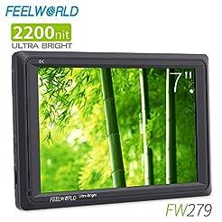 FEELWORLD FW279 7 Inch 2200nit Ultra Bri...