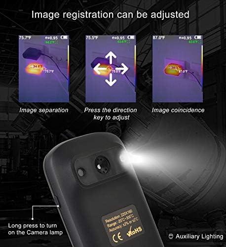 Cámara térmica IR con resolución de 320 x 240, Mini Imagen térmica ...