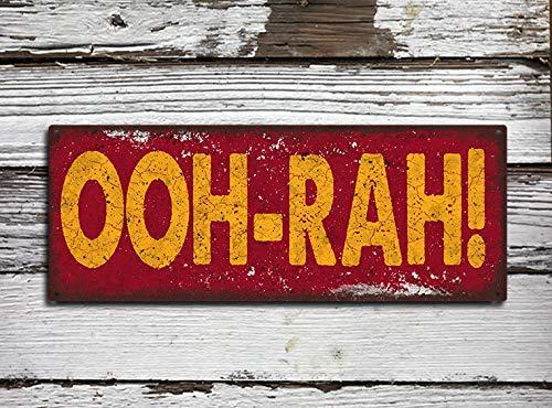 Letrero de Calle de Metal rústico de OOH RAH con Texto en ...