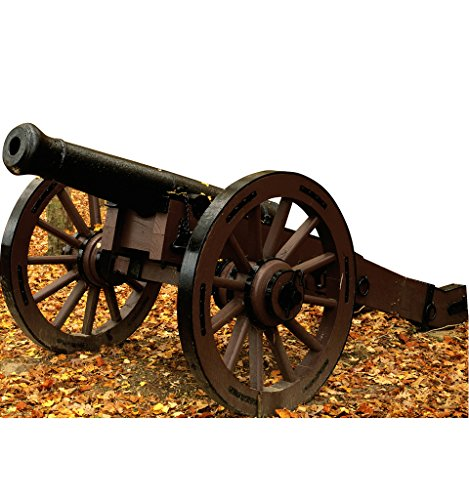 Civil War Cannon - Advanced Graphics Life Size Cardboard - Shipping Cannon