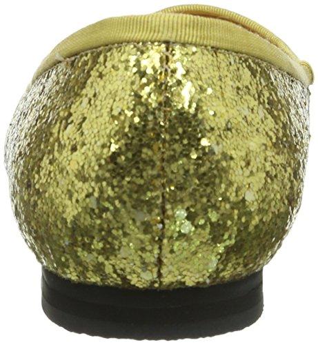 Lise Lindvig JUSTINE - Bailarinas de material sintético para mujer dorado - Gold (Gold)