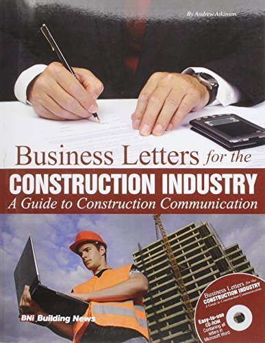 Read Online Business Letters for the Construction Industry: A Guide to Construction Communication [With CDROM] by Atkinson, Andrew (2008) Paperback pdf