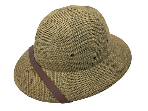 kainozoic Pith Helmet Costume Party Hat Women Men