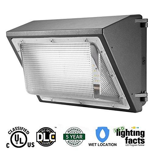 100 Watt Metal Halide Wall Pack Flood Light Fixture - 4