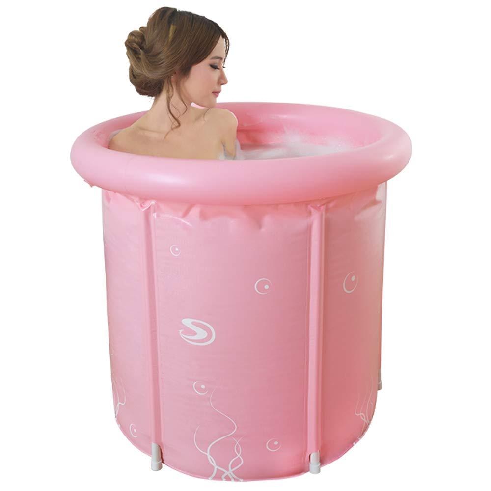 Amazon.com: Bañera inflable para adultos, barril de plástico ...