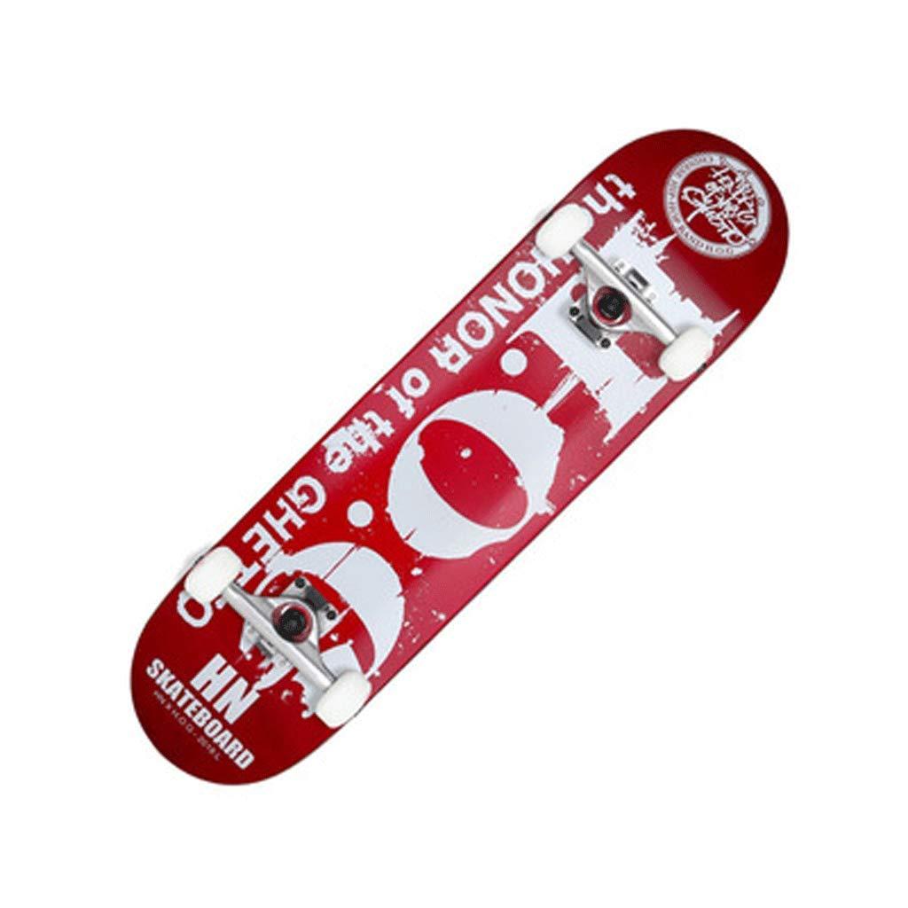 【全品送料無料】 スケートボード表面初心者アダルトプロフェッショナル双方向傾斜ボードスケートボードコールドプレスボード : (色 : Red view) Street view) B07KS7MCXY Red Red, 鞍手町:465535f0 --- a0267596.xsph.ru
