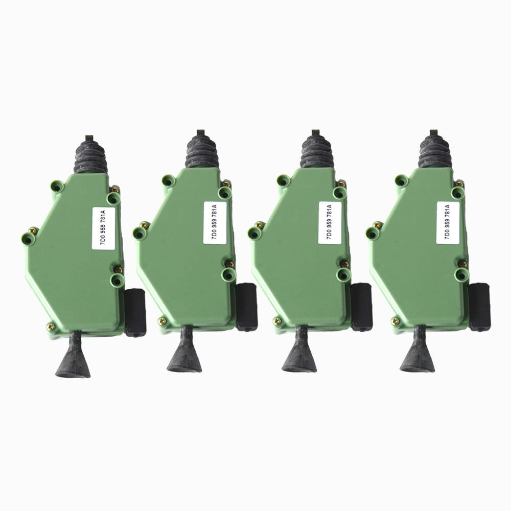 4x Tü rschloss Stellmotor+ ZV Zentralverriegelung 701959781 255959781 NSGMXT