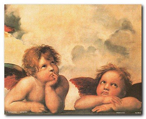 - Wall Decor Cherubini Little Angels Of Sistine Madonna By Raphael Art Print Poster (8x10)