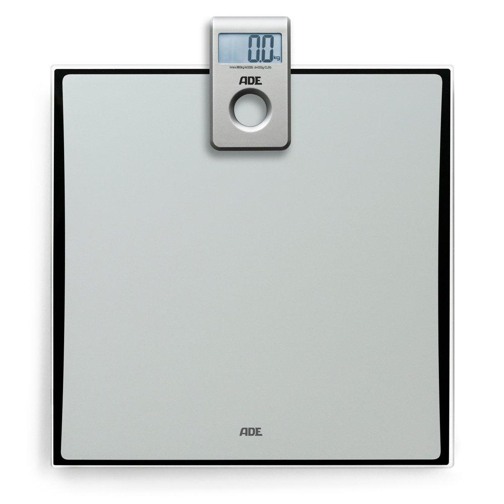 ADE Báscula personal digital BE 1307 Tilda. Pantalla Capacidad hasta de 180 kg. Incluye baterias. Gris: Amazon.es: Salud y cuidado personal