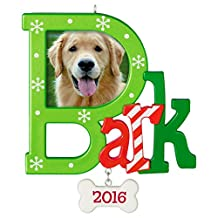 Hallmark Keepsake Ornament-Dog Christmas Bark Dated 2016