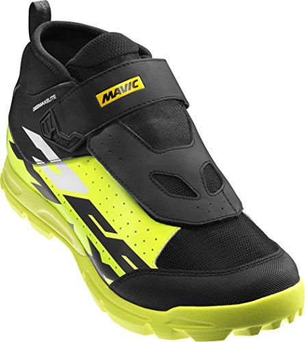 Mavic Deemax Elite - Zapatillas - Amarillo/Marrón 2018