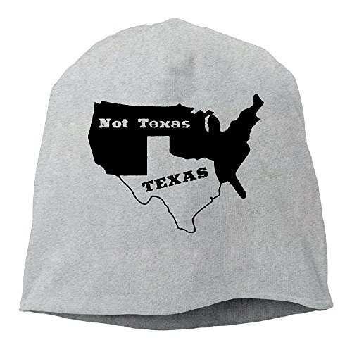 Rrteyr6y Texas Not Texas Secede Austin Dallas Oil Longhorn Winter Fall Style Unisex Knit Hats Skull Beanie