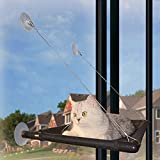Cat Window Perch Cat Bed Cat Window Hammock Kitty Window Seat Natural Scenery for Cats Hold Up to 50 lb Window Cat Bed
