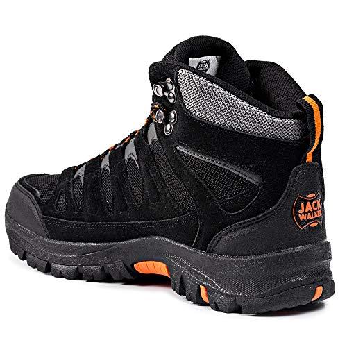 Jack Walker Bottes de Marche imperméables légères et Respirantes Chaussures pour la randonnée et Les Trek JW9255 5