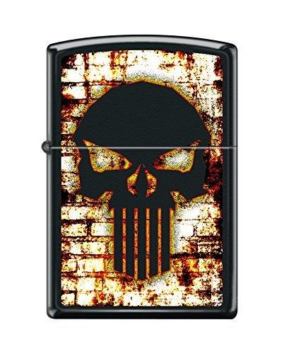 Zippo diseño personalizado resistente al viento Mechero Coleccionable de el Castigador, Punisher 3, 1