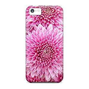 For Iphone 5c Protector Case Chrysanthemum Flowers Phone Cover