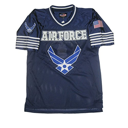 - JWM Men's Football Jersey US Air Force XLarge