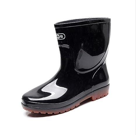 Tendon boots / protective men's rain boots / fishing shoes / car wash shoes / non-slip wear resistant
