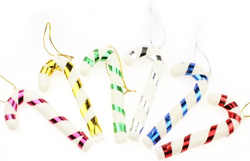 LUFA 2m Adornos navide/ños con estrella Guirnalda colorida de la cinta para la decoraci/ón de los /árboles de navidad
