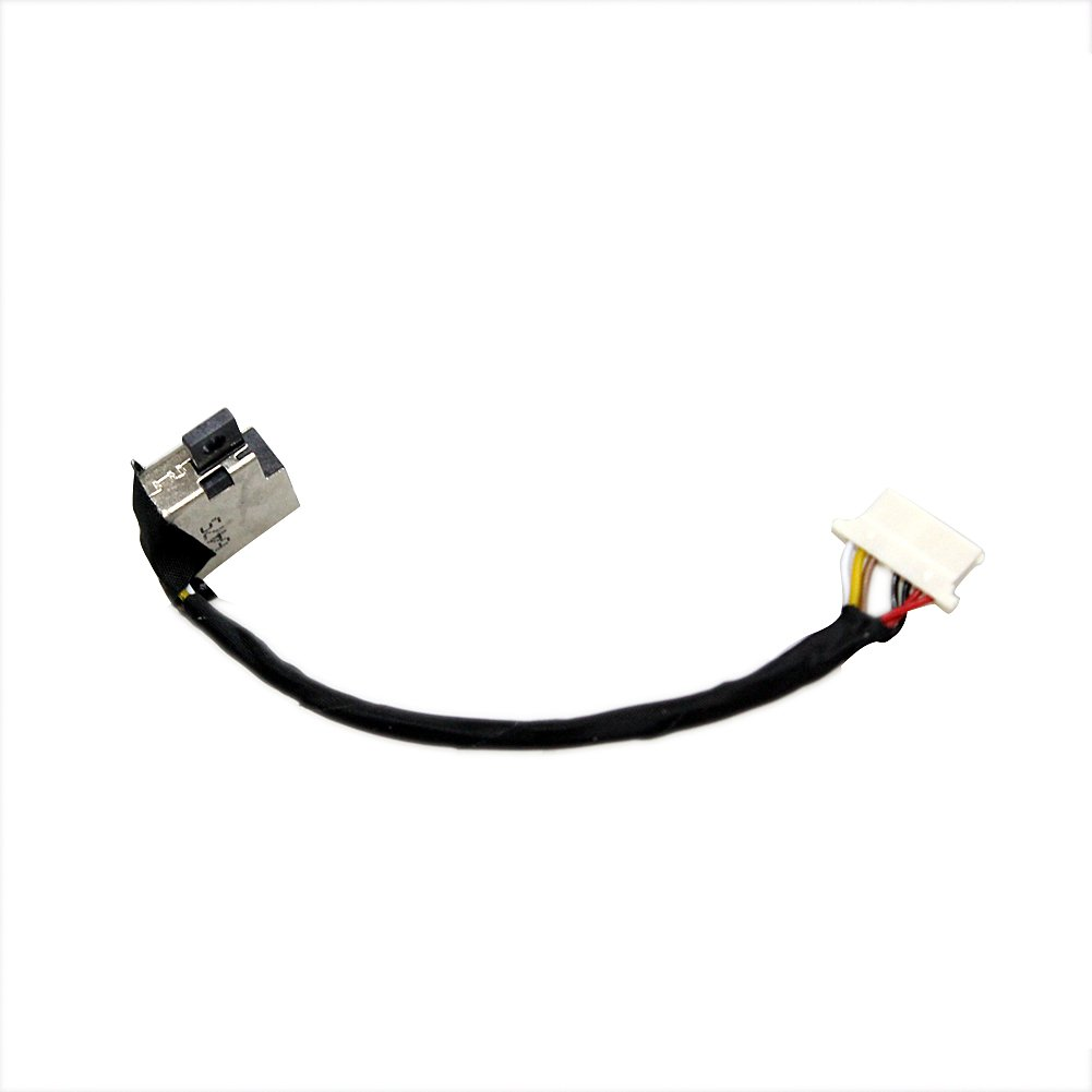 DC Power Jack Cable Harness Replacement for HP Spectre X360 13-4003DX 13-4005DX 13-4001 13-4001DX 13-4002DX 13-4193DX 13-4193nr 13-4194DX 13-4101DX 13-4102DX 13-4103DX 13t-4000