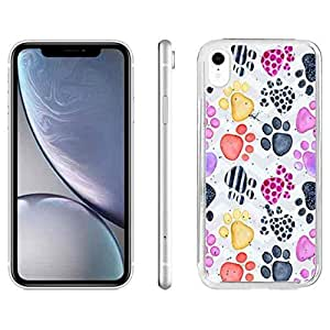 Amazon.com: iPhone Xr Phone Case, Dog Paw iPhone Xr Phone