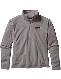 Patagonia Women's Micro D 1/4 Zip Pullover Sweatshirt