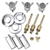 BrassCraft Mfg SK0305 Space Age Tub and Shower Faucet Rebuild Kit for Sayco Faucets, Chrome