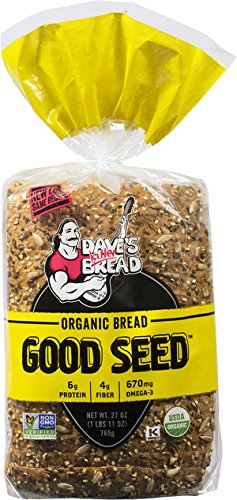 Dave's Killer Bread - Powerseed & Good Seed Combo - 2 Loaves Total - USDA Organic
