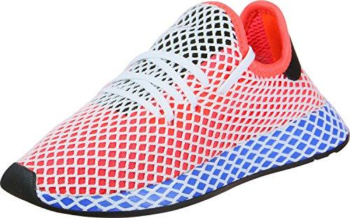 adidas 8, Zapatillas de Gimnasia Unisex Niños Rojo (Hi-res Red S18/hi-res Red S18/bluebird)