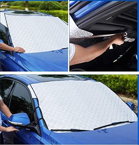 Parabrisas del coche Sombrilla Sombrilla telesc/ópica Reflector de calor resistente a los rayos UV para mantener su veh/ículo fresco