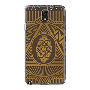 Samsung Galaxy Note3 EvM844IUjR Allow Personal Design Beautiful Grateful Dead Image Shock-Absorbing Hard Cell-phone Case -CharlesPoirier
