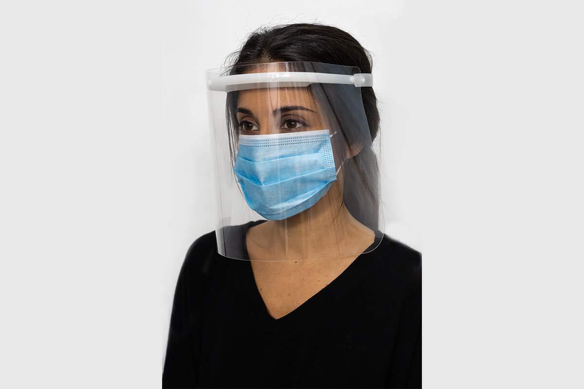 Pantalla de Protección Facial - UNE-EN 166:2002 - Campo de visión completo - Fabricado en España (1, Adulto)