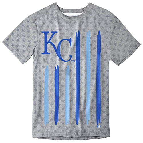 Kansas City Royals Big Logo Flag Tee by Forever Collectibles ()