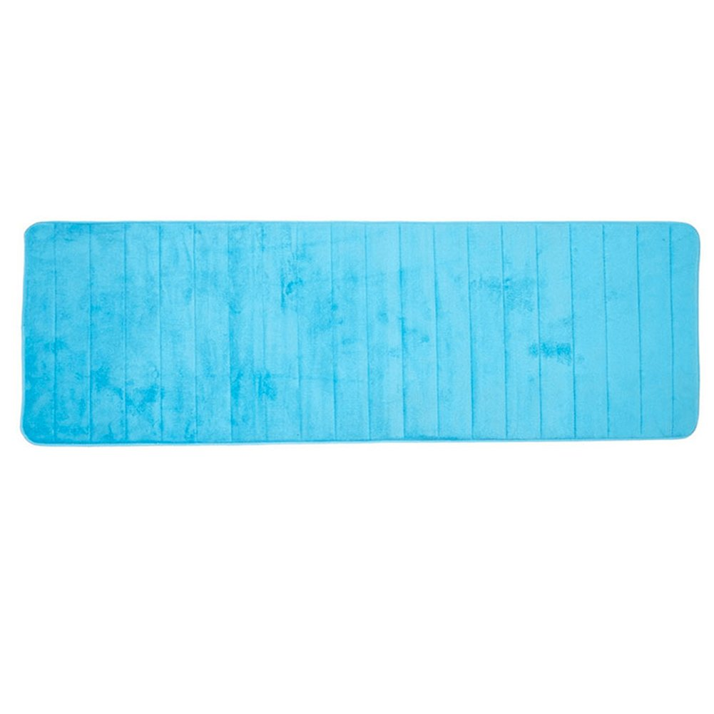 Super tappeto antiscivolo morbido e confortevole per soggiorno, camera da letto, WC 50 * 160 cm (6 colori per scegliere) Taglia libera Light Blue WC 50 * 160cm (6colori per scegliere) Taglia libera Light Blue UxradG