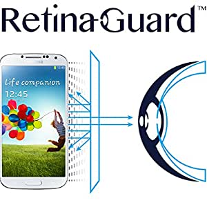 RetinaGuard Anti-UV, Anti-blue Light Screen protector for Samsung Galaxy S4 -...