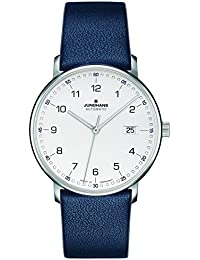Form A Automatic Date Matte Silver Dial Blue Leather Strap 027/4735.00