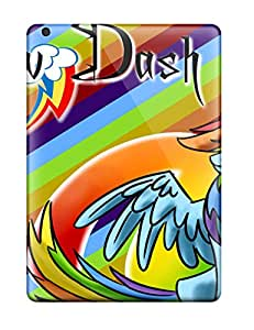 Ipad Snap On Hard Case Cover Beautiful Rainbow Dash Protector For Ipad Air