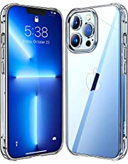 Mkeke Compatible with iPhone 13 Pro Max Case Clear, Shockproof Protective Cases for iPhone 13 Pro Max Phone Case 6.7 Inch Released in 2021