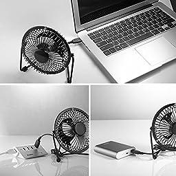 ECVILLA USB Desk Mini Fan