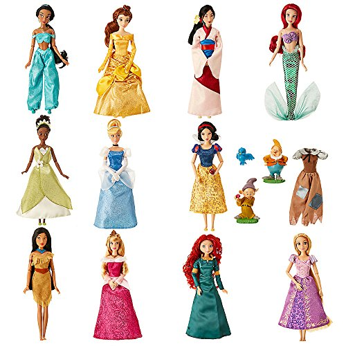 Disney Princess Classic Doll Collection Gift - Classic Collection Dolls
