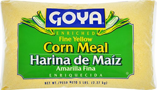 Goya Foods Fine Yellow Corn Meal, 5 Pound (pack of 4)
