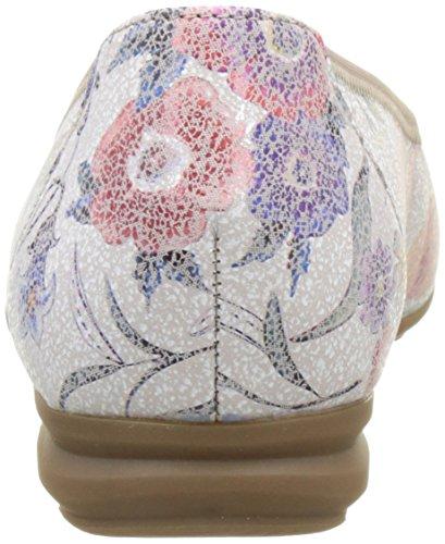 Gabor Shoes Comfort, Bailarinas para Mujer Multicolor (multicolour 38)
