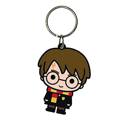 Amazon.com: Llavero de goma con personaje de Harry Potter ...