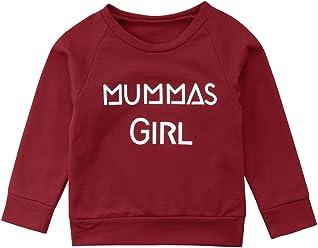 4fb9d071b25 Imcute Mummys Girl Boy Family Matching Toddler Boys Girls Long Sleeve  Blouse Tops Sweatshirts