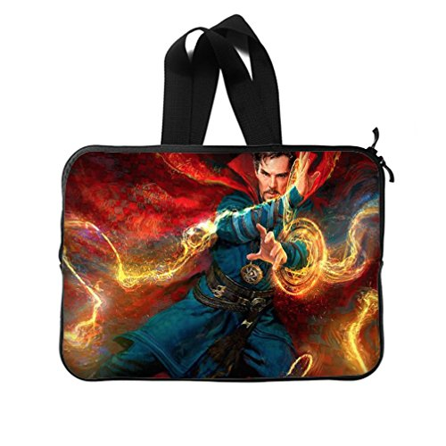 [DONGMEN Thanksgiving Day Gifts Doctor Strange Special Design Water Resistant Neoprene New Laptop Sleeve 13 inch(Twin] (Ladybug Soft Costumes)
