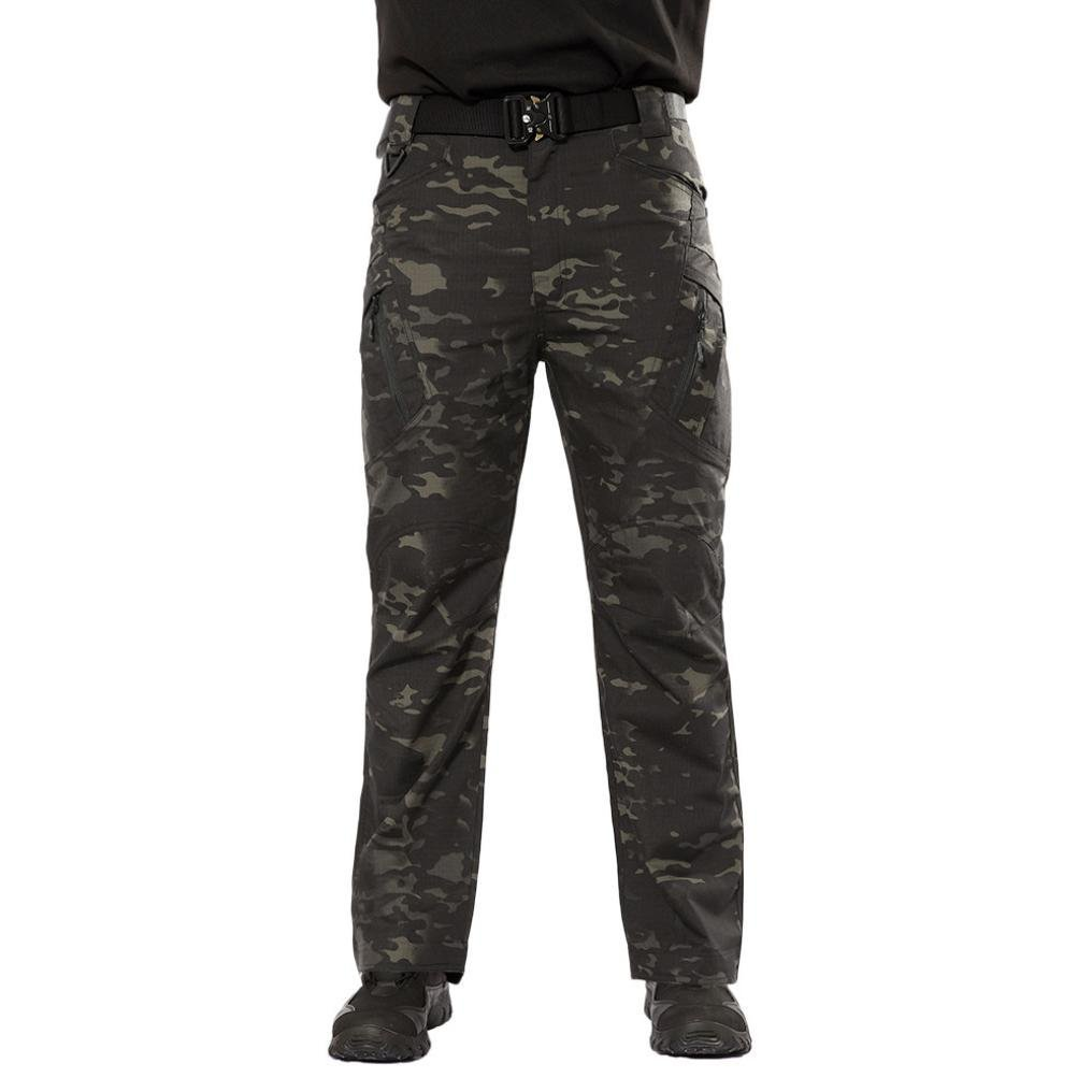 PASATO New!Men's Casual Tactical Military Army Combat Outdoors Work Trousers Cargo Pants(Camouflage, S) by PASATO (Image #1)