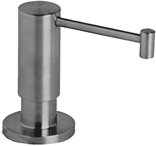 product image for Waterstone 4065-SS Contemporary Soap Dispenser Deck Mount, Solid Stainless Steel